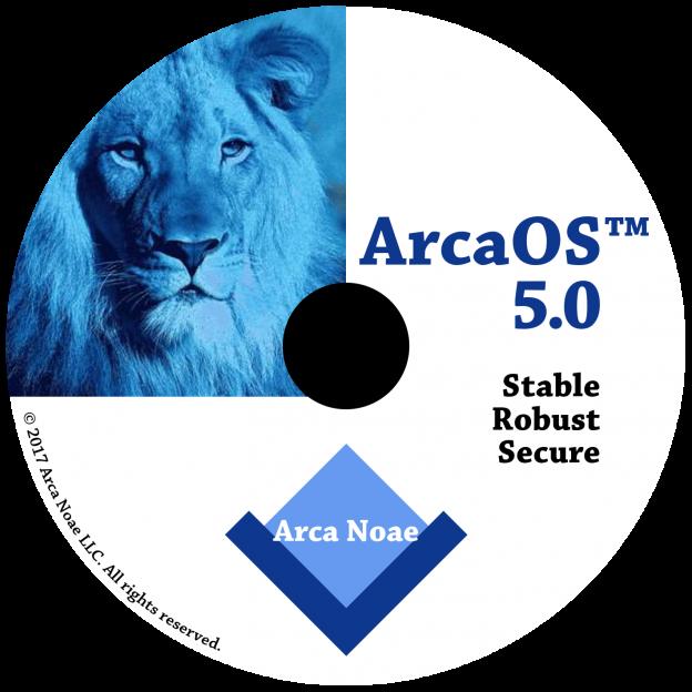 ArcaOS 5.0 DVD
