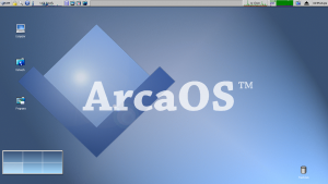 ArcaOS desktop